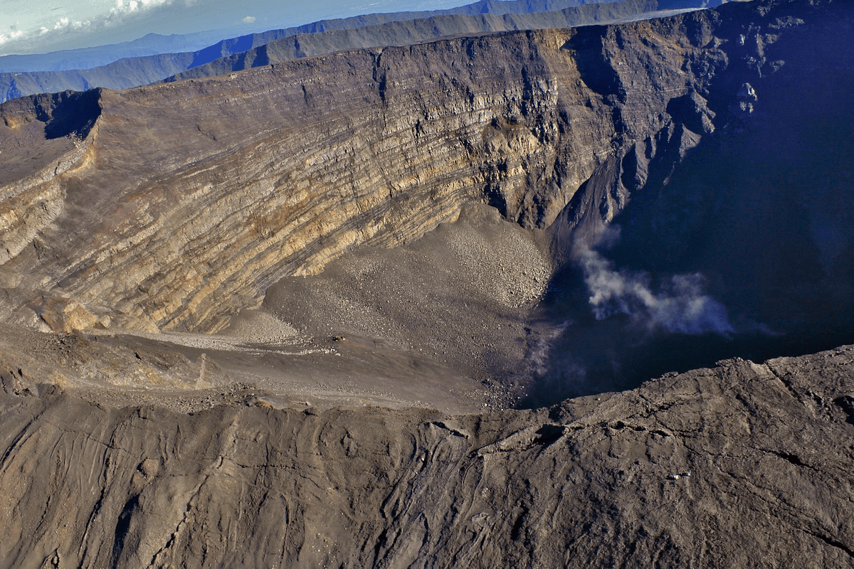 Le plus beau volcan de l'île de la Réunion